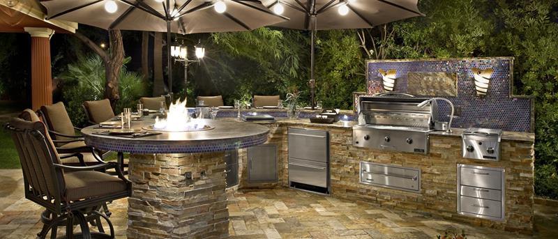 6 choses à penser pour réaliser la cuisine extérieure de vos rêves cuisine idéale design