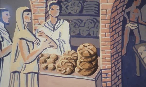 Le pain: entre le XIVème et le XIXème siècle!